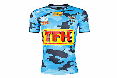 Classic Sportswear Mens Gold Coast Titans 2018 NRL Rugby T-Shirt Sports Top Tee
