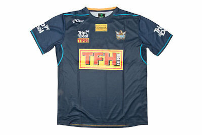 Classic Sportswear Mens Gold Coast Titans 2018 NRL Rugby Training T-Shirt Navy