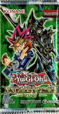 YuGiOh! Duelist Pack Yugi UNL Edition New And Sealed Booster Pack x1