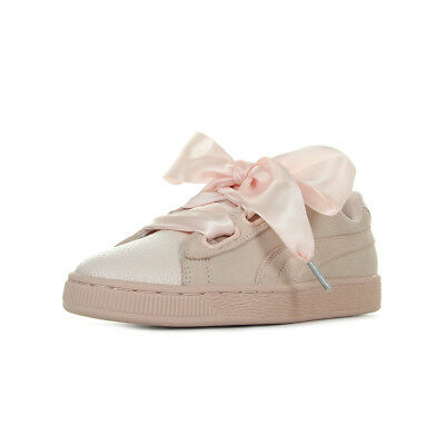 W's Baskets Heart Rose Femme Puma Suede Taille Chaussures Bubble Z6TBYwYq
