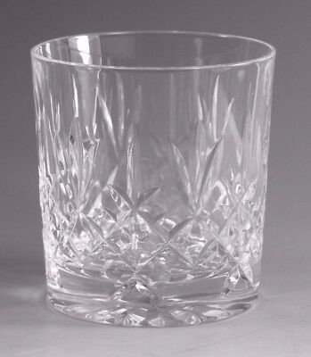 EDINBURGH Crystal - LOMOND Cut - Whisky Tumbler Glass / Glasses - 3""