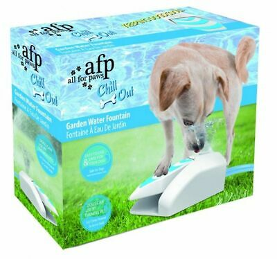 All For Paws AFP Dog Puppy Chill Out Garden Water Fountain FOR USE WITH HOSE