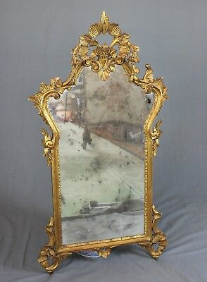 Carved Giltwood Georgian Style Mirror