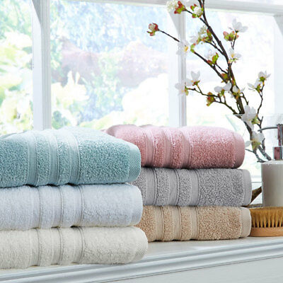 Catherine Lansfield Zero Twist 100% Micro Yarn Cotton Bath Towel