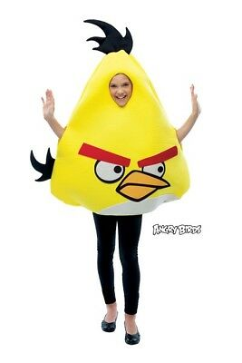 Angry Birds Yellow Bird Child Costume One Size Fits Most