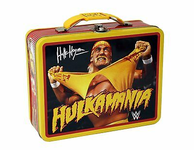 WWE Hulk Hogan Tin Lunch Box