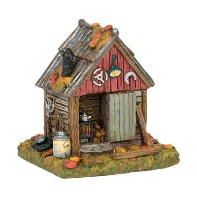 Dept 56 SV Halloween Backwoods Tool Shed #6001743 BRAND NEW 2018 Free Shipping