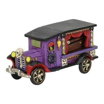 Dept 56 SV Halloween Last Rites Ride #6001740 BRAND NEW 2018 Free Shipping