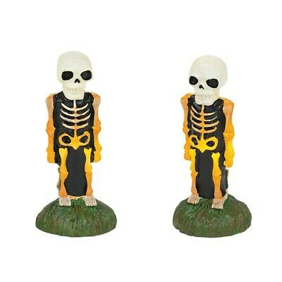 Dept 56 SV Halloween Lit Skeleton Yard Decor #6001751 BRAND NEW 2018 Free Ship