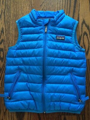 Patagonia Baby Down Sweater Vest Size 3t Blue 4100 Picclick