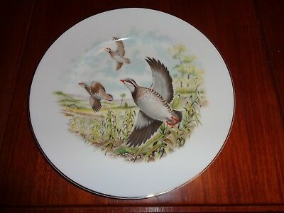 Lovely Fenton China Company Collectors Plate PARTRIDGE
