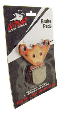 Outlaw Racing OR83 Front Sintered Brake Pads KAWASAKI KX80 1984-1996 KX100 95-96