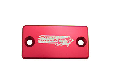 Outlaw Racing Billet Front Brake Cap Red Yamaha YZ450F 01-07 2001-2007