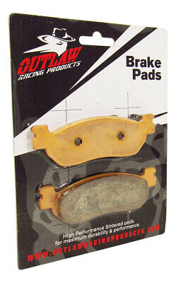 Outlaw Racing OR275 Brake Pads YAMAHA TW200 XT250- Front Sintered