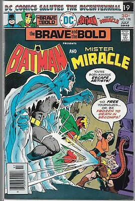 The Brave And The Bold #128 (Vf) Batman & Mister Miracle, Bronze Age