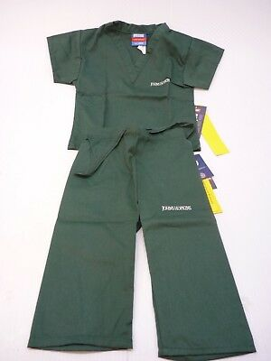 GelScrubs Kids Unisex Medical Scrub Set Shirt & Pants 6709 Johns Hopkins Logo