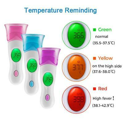 Digital Infrared ABS Baby Thermometer Gun Forehead Ear Temperature Measurement
