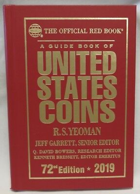 2019 Official Red Book Of United States Coins - Hard Bound