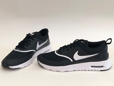 newest b1002 aa3da Nib Womens Size 6.5 Nike Air Max Thea Sneakers Black 599409 028
