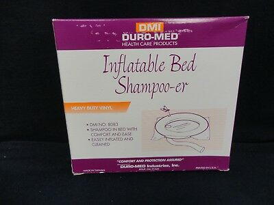 Duro-Med Essentials - Inflatable Bed Shampooer