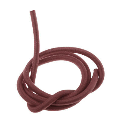 5mm Elastic Bungee Rope Shock Cord Marine Grade Stretch Cord UV Stable Brown