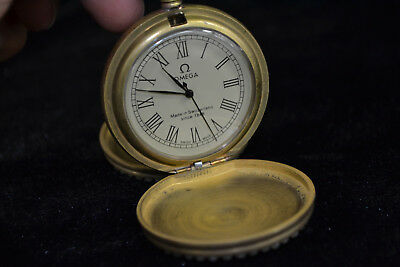 Clock Collectible Copper good Used Mechanical armstrong's patent Pocket Watch 0