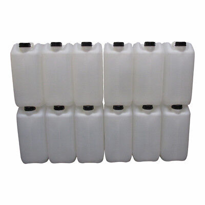 new 25 litre jerry can water carrier liquids chemical quality anti glug hogred