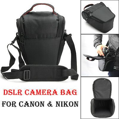 DSLR Camera Case Shoulder Bag For CANON NIKON 700D 5D MARK II 1100D D7000 D90 6D