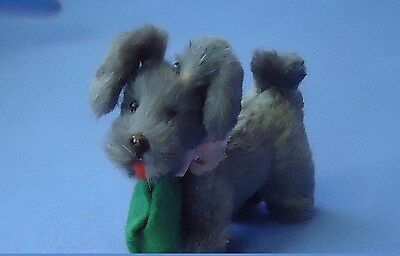 Antique Skye Silky Terrier Fur Dog French Fashion Doll Germany