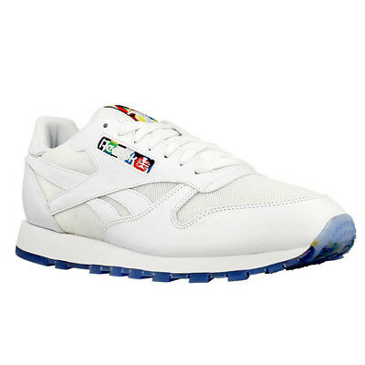 d623ab223386 REEBOK CLASSIC LEATHER BF SHOES TRAINERS Trainers Men White NEW ...