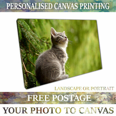 Photo to Canvas Custom Canvas Printing Service Personalised Canvas Ready to Hang