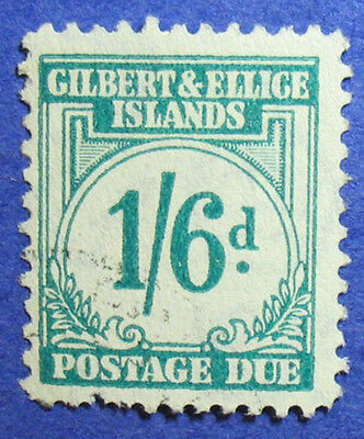 1940 Gilbert Ellice Is 1/6 Scott# J8 Sg# D8 Used Cs06796