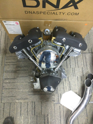 Harley SHOVEL HEAD engine FRESH REBUILD- ZERO MILES EVO BOBBER CHOPPER MOTOR
