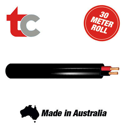 Tycab Twin Sheath 6mm Trailer/Caravan/Automotive 30m Twin Core Wiring Cable