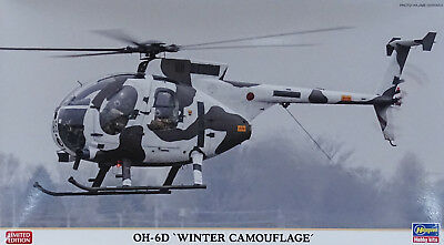 """HASEGAWA® 07460 OH-6D """"Winter Camouflage"""" in 1:48 LIMITED"""