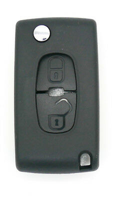 fits PEUGEOT 4007 ET 4008 Citroën C-Crosser C4 2 Button Fob Remote Key case