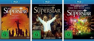 3 Blu-rays * JESUS CHRIST SUPERSTAR - KINO/MUSICAL/ARENA TOUR IM SET # NEU OVP +