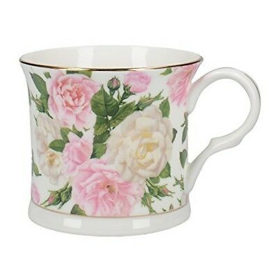 43d5d1171d9 Creative Tops Royal Bouquet Fine Bone China Footed Palace Mug With Gold Rim  By
