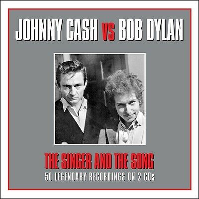 Johnny Cash & Bob Dylan - The Singer & The Song 2CD 2014 NEW/SEALED