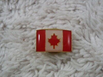 Canada Canadian FLAG Hat Lapel Tac Pin (D52)