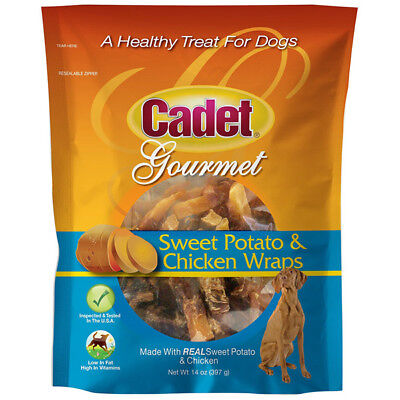 CADET - Sweet Potato and Chicken Wraps Dog Treats - 14 oz. (397 g)
