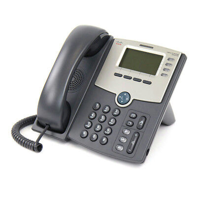 Cisco SPA514G 4 Line IP Phone with Display, PoE and GigE Ethernet - VGC