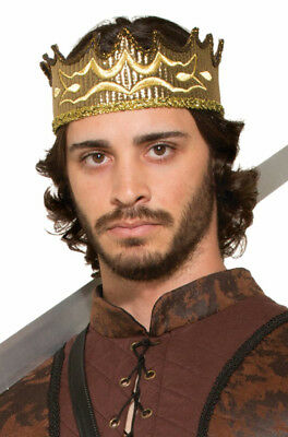 Renaissance Medieval Fantasy King Crown Costume Accessory