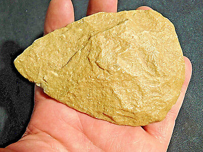 A PERFECT! One Million Year Old Early Stone Age ACHEULEAN Hand Axe! 186gr e