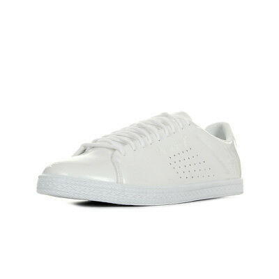 f8fccf8a5f1 Chaussures Baskets Le Coq Sportif femme Charline Coated S Leather taille  Blanc
