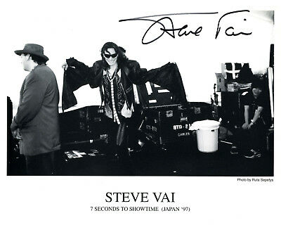 REPRINT - STEVE VAI #1 Rock Guitarist Whitesnake autographed signed photo copy