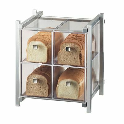 Cal-Mil 1146-74 One by One Silver 4-Drawer Bread Case
