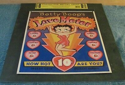 New Betty Boop Sign - Love Meter - How Hot are You?