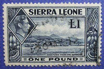 1938 Sierra Leone 1P Scott# 185 Sg# 200 Used Cs06234