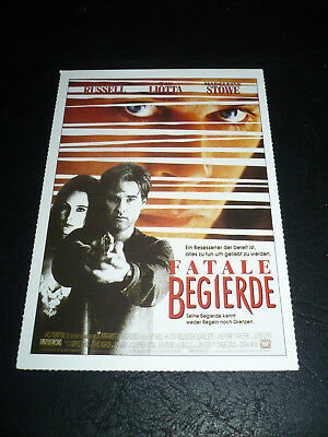 UNLAWFUL ENTRY, film card [Kurt Russell, Ray Liotta, Madeline Stowe]